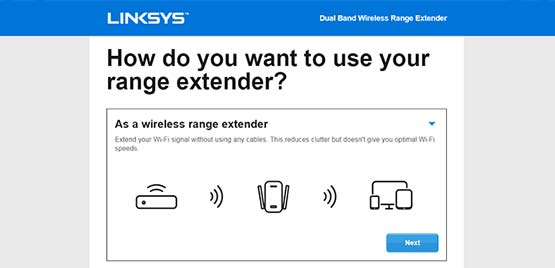 extender.linksys.com login
